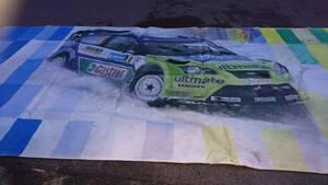 *  Не для продажи.  мир  к 1 шт!  ультра  большой  печать!! 2.2x6m!! M-Sport/BP Ford  World Rally Team.  папка - Kas WRC  ...  Сиденье     ...?  *