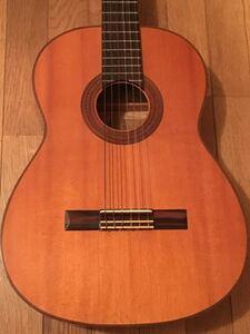 名工 広瀬博彦 クラシックギター 第二号 1966 昭和41年 エボニー 激トラ杢 極上材 ラッカー 日本製 JAPAN VINTAGE メンテ/クリーニング済み