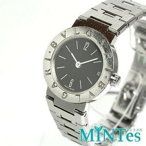 BVIGARI ブルガリ ブルガリブルガリ レディース腕時計 クォーツ BB23SS 黒文字盤 23mm