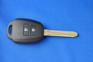 即納[純正品質]トヨタ/2ボタン/RACTIS/ラクティス/VITZ130系/ヴィッツ130系/AQUA/アクア/アクシオ/キーレス/ブランクキー/車鍵/スペアキー