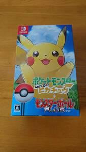 【中古】ポケットモンスター Let's Go! ピカチュウ モンスターボール Plusセット Nintendo Switch (欠品あり)