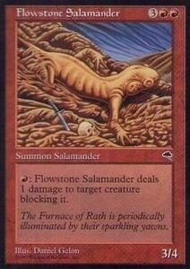 020192-002 TE/TMP 流動石のサラマンダー/Flowstone Salamander 英1枚