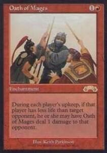 022033-002 EX/EXO 魔道士の誓い/Oath of Mages 英1枚