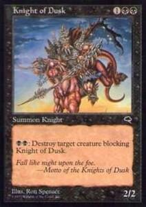 020177-002 TE/TMP 薄暮の騎士/Knight of Dusk 英2枚