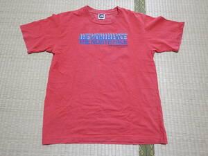 ノースフェイス THE NORTH FACE Tシャツ NT32437 赤 Sサイズ(メンズでMサイズくらい)