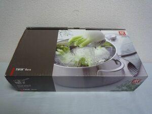 TWINNova ツインノヴァ ソースパン 片手鍋 ステンレス 16cm 1.5L ★ 鍋底のシグマボンド構造で均一な熱伝導で調理 高い蓄熱性を可能