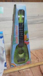 FANS フルーツウクレレ キウイ 果物 ギター H36cm 送料350円