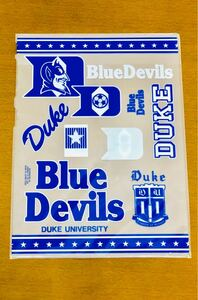 新品 未開封 Blue Devils サッカー 下敷き 文房具 文具 小学生 男の子 Duke