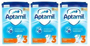 【800g 3箱セット・1歳から】Aptamil (アプタミル) 乳児用粉ミルク [ヌクレオチド配合]