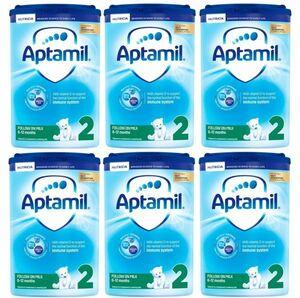 【800g 6箱セット・6カ月から】Aptamil (アプタミル) 乳児用粉ミルク [ヌクレオチド配合]