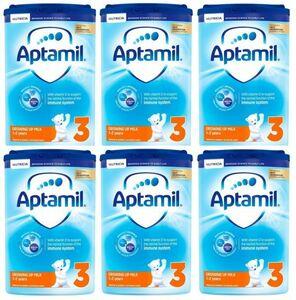【800g 6箱セット・1歳から】Aptamil (アプタミル) 乳児用粉ミルク [ヌクレオチド配合]