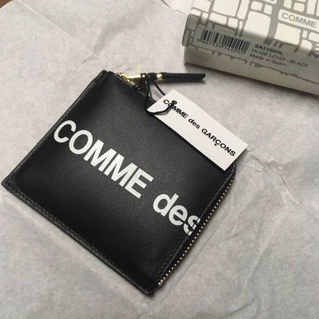 BLACK COMME DES GARONS WALLET コムデギャルソン 財布 ウォレット 黒 ブラック ギャルソン