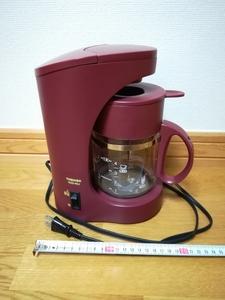 東芝コーヒーメーカーHCD-4EJ・日本製