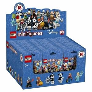 LEGO☆ディズニーミニフィグ 71024☆60パックセット☆コンプリート レゴ正規品☆フルコンプ ミニフィギュア ミッキー ブロック 一箱 BOX
