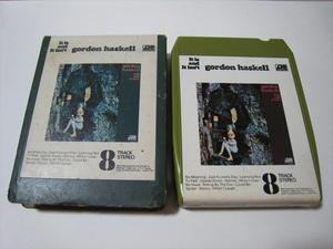 【8トラックテープ】 GORDON HASKELL / IT IS AND IT ISN'T UK版 箱付 ゴードン・ハスケル 歳時記の商品画像