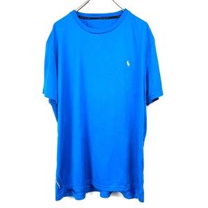 ポロ ラルフローレン ワンポイント 半袖 カットソー POLO Ralph Lauren メンズ Tシャツ ブルr- 青