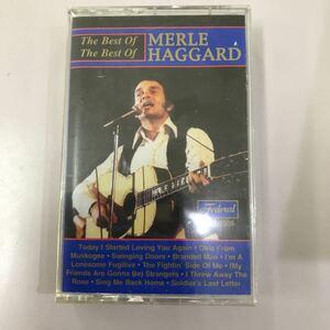 カセットテープ【洋楽】☆中古☆MERLE HAGGARD The Best of Best of