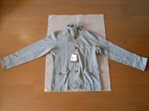 ジャケット 杢グレー Mサイズ 長袖 新品