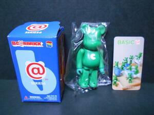 【新品!!】数量1 シリーズ6 ベーシック BASIC 「 C 」 100% ベアブリック 緑 グリーン BE@RBRICK MEDICOM TOY メディコムトイ フィギュア