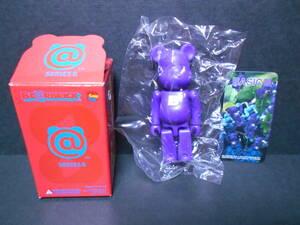 【新品!!】数量1 シリーズ8 ベーシック BASIC 「 小B 」 100% ベアブリック 紫 パープル BE@RBRICK MEDICOM TOY メディコムトイ フィギュア