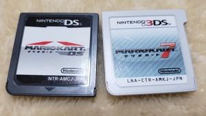 送料無料 マリオカート7(3DS) & マリオカート(DS) [2本セット ソフトのみ ] #マリカー スーパーマリオ