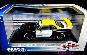 【フリマ】EB☆1/43 43192 NISMO スカイライン GT-R R34 ウインターテストカー2001 限定 2400台