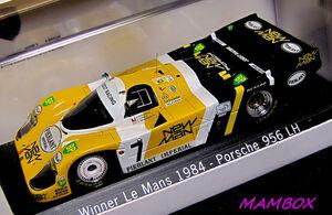 【フリマ】PM☆1/43 MAP02028413 ポルシェ 956 LH WINNER LEMANS 1984