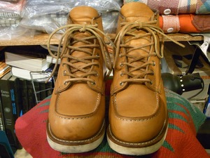 MADE IN USA RED WING #9875 US8E(26cm) アメリカ製 レッドウィング アイリッシュセッター ゴールドラセット セコイア