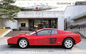 ●フェラーリ テスタロッサ 河口湖自動車博物館テレカ