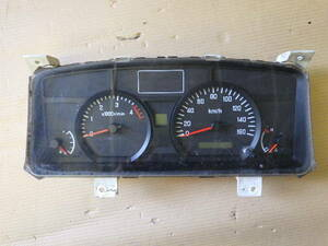 9515-27-100-3 ★ いすゞ エルフ スピード メーター 表示距離 86万キロ BKG-NJR85AN