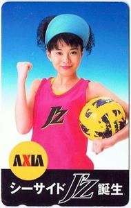 【テレホンカード】坂井真紀/AXIA シーサイドJ'Z誕生 50度数未使用の商品画像