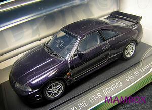 【フリマ】EB☆1/43 43154 ニッサン スカイライン GT-R R33 ミッドナイトパープル
