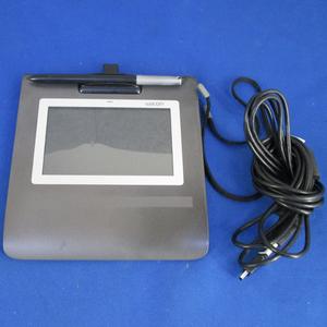 ^Wacomwa com 5 -дюймовый широкий цвет жидкокристаллический автограф планшет STU-530/G б/у авторучка держатель . трещина есть ^#2