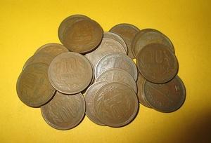 ★10円青銅貨《昭和37年》 20枚  普通品