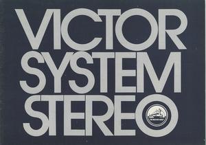 Victor 70年前後の総合カタログ ビクター 管0284