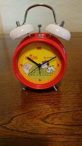 スヌーピー目指し時計