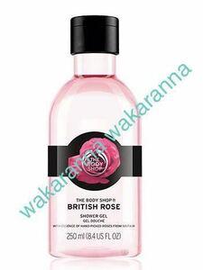 新品 ザ・ボディショップ シャワージェル ブリティッシュローズ250ml未開封 ボディシャンプー ボディソープ 未使用 ローズ バラの香 ピンク