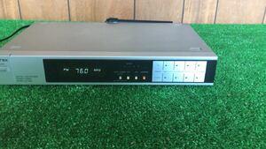 中古品 Aurex AM/FM ステレオチューナー ST-V50、AM、FM 動作できるのか確認出来ませんでしたので、ジャンク 扱いとさせていただきます。