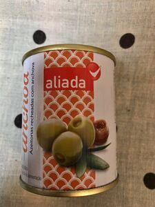 「送料込」オリーブの実 缶詰 スペイン 海外食品