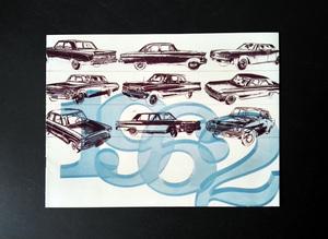 1962 昭和37年 フォード ラインナップ・カタログ 当時品!☆ 近鉄モータース 日本配布版 リンカーン マーキュリー アメ車 旧車カタログ