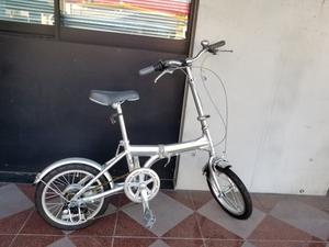 香川県 高松市 手渡し可 16インチ LIFELEX SPORT 自転車 小型 コンパクト 折り畳み自転車 Revoshift 変速ギア 6速 SHIMANO Tourney
