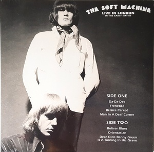 Soft Machine - Live In London In The Early Sixties 限定アナログ・レコード