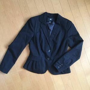 H&M 黒 ジャケット 38