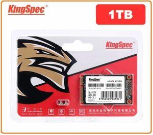 ■新品!!国内対応&90日保証■KingSpec SSD mSATA 1TB 内蔵型 MT-128 3D 高速 3D NAND TLC デスクトップPC ノートパソコン DE024