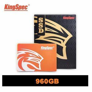 ■新品!!国内対応&90日保証■KingSpec SSD 960GB SATA3/6.0Gbps 内蔵型 2.5インチ 3D 高速 NAND 3D QLC PC ノートPC DE016