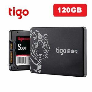 ■新品!!国内対応&90日保証■ 【2019最新型】 tigo SSD 120GB SATA3/6.0Gbps 2.5インチ 3D 高速 NAND TLC 内蔵型 S300 PC ノートPC DE012