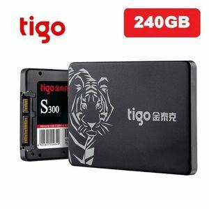 ■新品!!国内対応&90日保証■ 【2019最新型】 tigo SSD 240GB SATA3/6.0Gbps 2.5インチ 3D 高速 NAND TLC 内蔵型 S300 PC ノートPC DE011