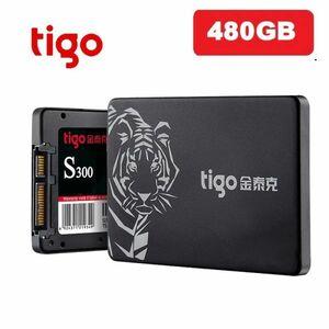 ■新品!!国内対応&90日保証■ 【2019最新型】 tigo SSD 480GB SATA3/6.0Gbps 2.5インチ 3D 高速 NAND TLC 内蔵型 S300 PC ノートPC DE010