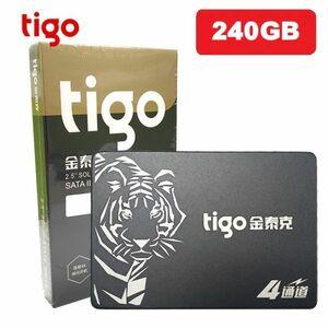 ■新品!!国内対応&90日保証■ 【2019最新型】 tigo SSD 240GB SATA3/6.0Gbps 2.5インチ 3D 高速 NAND TLC 内蔵型 S320 PC ノートPC DE008
