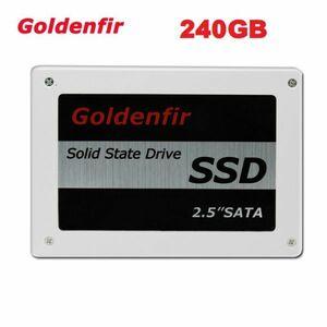 ■新品!!国内対応&90日保証■ SSD Goldenfir 240GB SATA3/6.0Gbps 2.5インチ 高速 NAND TLC 内蔵 デスクトップPC ノートパソコン DE005